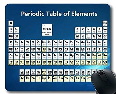 Yanteng Alfombrillas de ratón, Color Tabla periódica de los Elementos Alfombrilla de ratón 181228-002 de Yanteng