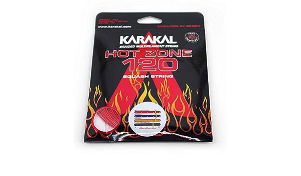 KARAKAL Zone Rouge 17 1.20 mm Squash Strings Set