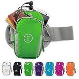 Echelon Line Premium Fitness socken Handy Hülle Arm Jogging Tasche Rennen Workout Smartphone Laufen Sportsocken Schlüssel Halter für iPhone und Samsung