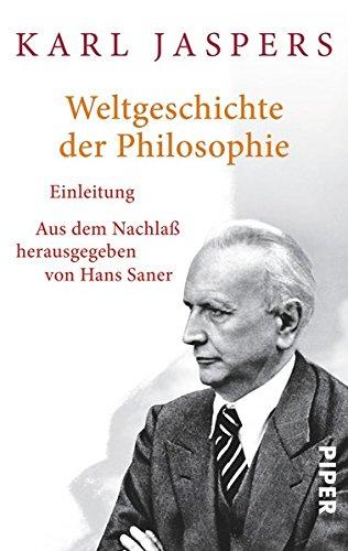 Weltgeschichte der Philosophie: Einleitung