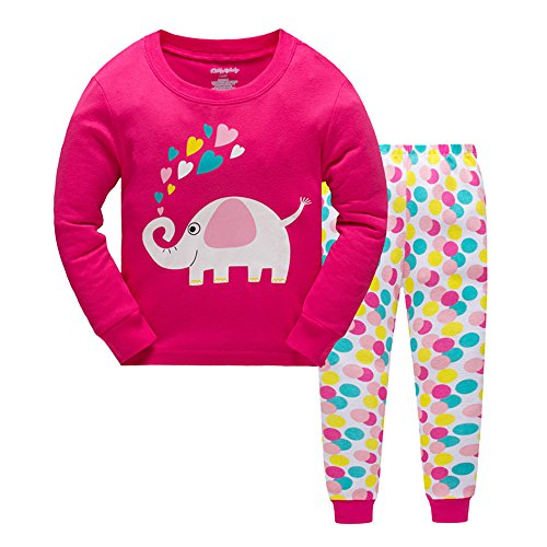Qtake Fashion Girls Pajamas Chil...