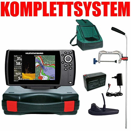 Humminbird Echolot GPS Portabel Profi Plus - Helix 7 Chirp GPS Mega DI G3
