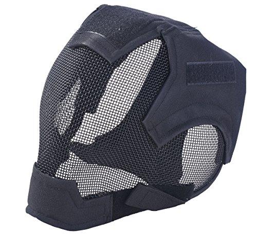 Coole Masken (Cool militärisches Kriegspiel Feld Mesh Schutzmaske (dunkles)