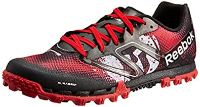 Reebok Men's All Terrain Super Spartan Excellent Red, Black and White Synthetic Running Shoes - 7 UK