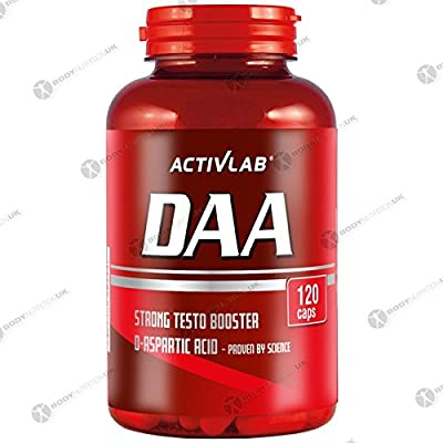 Activlab DAA 3500mg D-aspartate Testosterone Booster 120 caps from Activlab