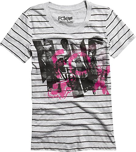 FOX GIRLS Dirt Vixen T-Shirt S Weiß/Pink (Racing Pink Fox)