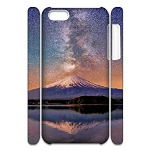 3D Sexyass Mount Fuji Milky Way Cases for IPhone 5C, with White