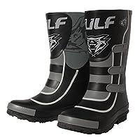 Wulfsport Mud Stomper Junior Wellington Boots (EU 38 / UK 5, Black)