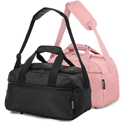 Aerolite, Bagage Cabine Multicolore Black + Rose Gold...