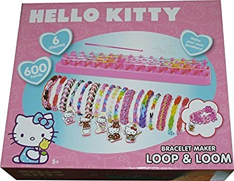 Hello Kitty Bracelet Maker Loop & Loom Bands Set