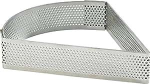 Cuisineonly–Triangolo acciaio inox perforato,.. cucina: intorno della pasticceria (cerchi Acciaio Inox–nonettes)
