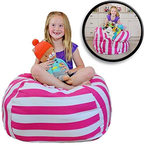 EXTRA GROẞER Sitzsack - Stausack / Bean Bag für Stofftiere mit Abdeckung von Smith - Räumen Sie Räume auf und lassen Sie diese...