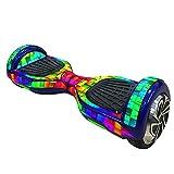 Vococal - Adesivo Copertina per 6,5 Pollici Hoverboard Smart Auto Bilanciatore Scooter Bordo dello colorato Blocchi