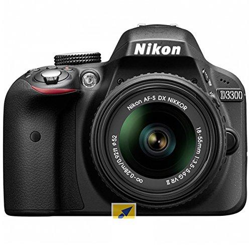 nikon d3300 with 18-55mm af-p vr lens
