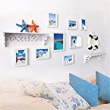 Wandtattoos wandaufkleber Wandbilder Tapeten Wandsticker-Sofa Produkt Foto Wand Fotorahmen Wand Kombination, 59 * 125CM
