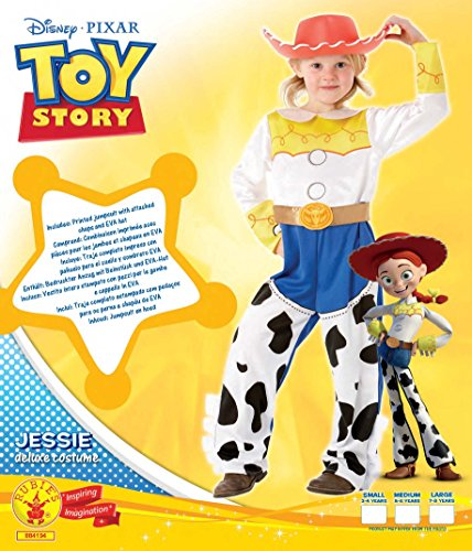 Imagen de rubbie's 'toy story'  disfraz de jessie, talla l 7 8 años  alternativa