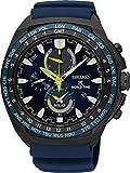 Seiko Solar Wolrd Time Chronograph SSC571P1 Montre-Bracelet pour hommes Avec alarme