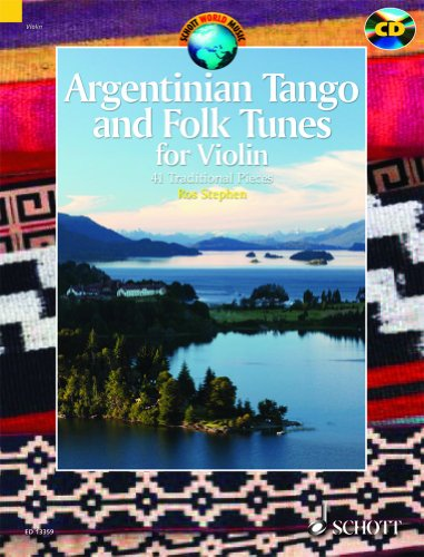 Argentinian Tango and Folk Tunes for Violin - Schott World Music - Violin - edition with CD - ( ED 13379 ) par Ros Stephen