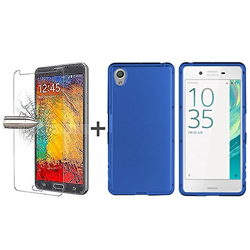 tbocr-pack-custodia-gel-tpu-blu-pellicola-protettiva-per-display-in-vetro-temperato-per-sony-xperia-