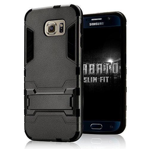 iPhone 6 Plus DUPLEXSCHUTZEN hochwertige Silikon Hülle Jisoncase Apple iPhone 6 Plus TPU Case Schutzhülle Cover Etui Handyhülle gold Lbt-I6L-19P84 grau