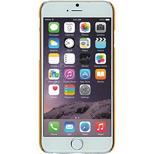PhoneNatic Case für Apple iPhone 6s / 6 Hülle silber Hexagon Hard-case für iPhone 6s / 6 + 2 Schutzfolien Schwarz