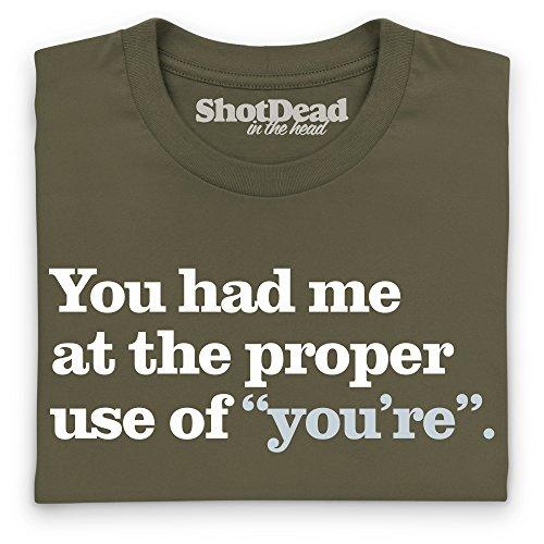 You Had Me T-Shirt, Herren Olivgrn