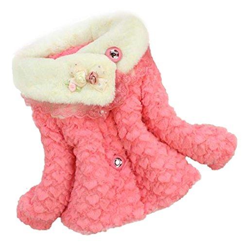 Sannysis Baby Mädchen Kind Kleinkind Outwear kleidet Winter Jacken Mantel Snowsuit