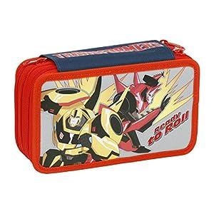 Giochi Preziosi – Transformers Case Maxi con Colores, marcadores y Accesorios Escuela