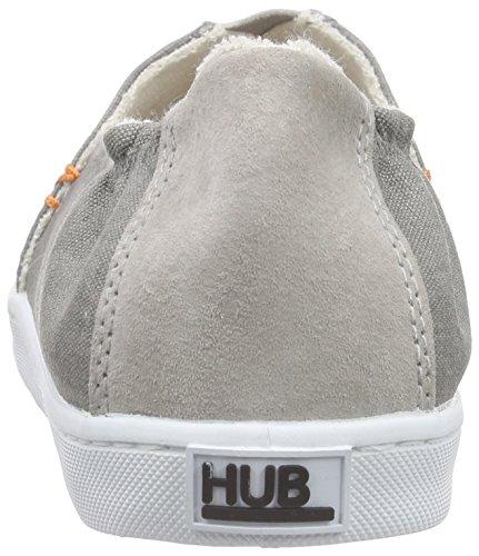 Hub Fuji C06, Espadrilles femme Gris - Grau (greyish/wht 015)