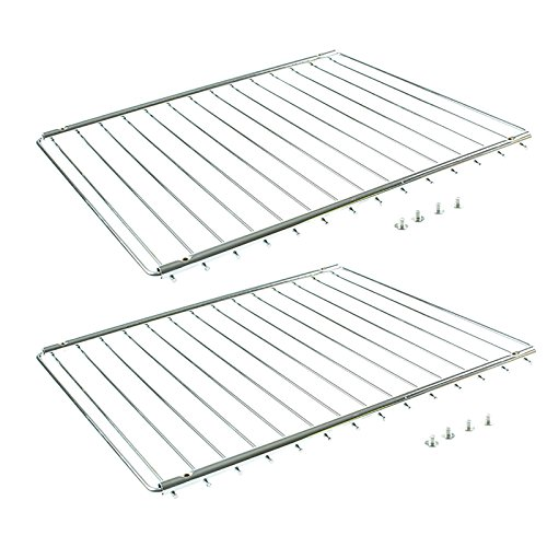 First4Spares Universal verstellbar ausziehbar Ofen Regal/Herd/Kühlschrank Rack, 352-566mm, 2Stück -