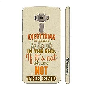 Enthopia Designer Hardshell Case Cut The Crap Back Cover for Asus Zenfone 3 ZE520KL