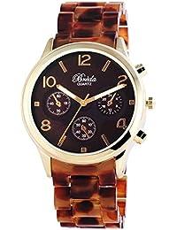 Breda mujer-reloj analógico con mecanismo de cuarzo 100407000010