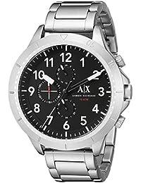 Armani Exchange Aeroracer Analog Black Dial Men's Watch - AX1750