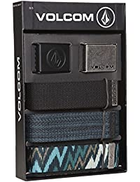 Volcom Web Belt Ceinture Gift Set, Assorted Colors, One Size, d593161 7ast