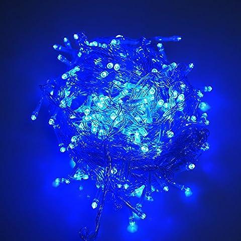 Vinteky®Solares Jardín Luces de la Secuencia de 50/100/200/300/400/500 LED Impermeable de la Luz Lámparas Solares para la Boda de Navidad y la Fiesta, Apto para Interiores o Exteriores (200LED,