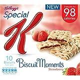 Special K Biscuit Moments fraises de Kellogg (de 5x25g) - Paquet de 6
