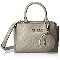 GUESS Womens Satchel Bag, Grey - SP743305