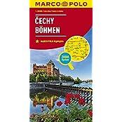 MARCO POLO Karten 1:200.000: MARCO POLO Karte Tschechien Blatt 1 Böhmen  1:200 000