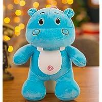 EEvER Jugueteblandos encantadores Regalo Suave de la muñeca del hipopótamo del Juguete del hipopótamo Animal de Felpa para los niños (Azul) - Peluches y Puzzles precios baratos