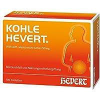 Kohle Hevert Spar-Set 3x50 Tabletten. Medizinische Kohle bei Durchfall sowie bei Vergiftungen durch Nahrungsmittel... preisvergleich bei billige-tabletten.eu