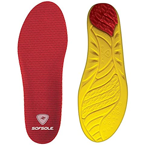 Sof Sole Men's Arch Support and Cushion Shoe and Sneaker Athletic and Comfort Insole, Size: 9-10.5 (= 4 Shoe and Sneaker Athletic and Comfort Insoles) by Sof Sole