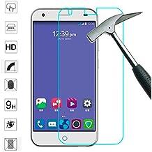 OVIphone Protector Pantalla PREMIUM Cristal Templado Para ZTE BLADE S6 (NO COMPATIBLE CON ZTE BLADE S6 FLEX), Antiroturas y Arañazos con bordes redondeados, Anti huellas, Ultra Fino 0,3mm.