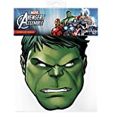 Official Marvel Avengers Assemble Hulk Card Face Mask
