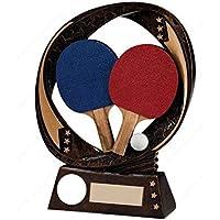 tecnocoppe Trofeo premiazione Ping Pong Tenis Mesa H 13,00cm Placa Personalizada