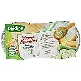 Blédina Les Idées de Maman Bol Purée de Courgettes Crème dès 12 Mois 2 x 200 g