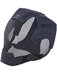Masque airsoft Paintball - Coofit Masque d'airsoft en filet tactique Jeux de guerre
