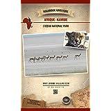 Parc National d'Etosha Namibie Afrique: Mini Roadbook Adventure (Edition Française) (English Edition)