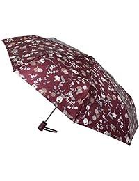 Funcionalidad y elegancia se unen en este paraguas Vogue abre y cierra automático confeccionado con un