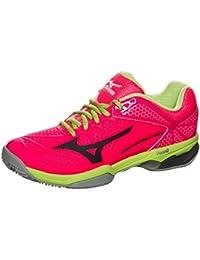 Mizuno Wave Exceed Tour 2CC Zapatillas de tenis para mujer, pink / lime