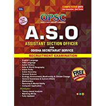 Assistant Section Officer (A.S.O) for Odisha Secretariat Service Exam (Free Odisha Objective)